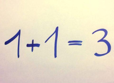1 + 1 = 3