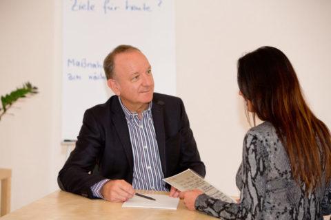 """Das """"positive"""" MitarbeiterInnen-Gespräch"""